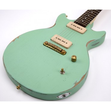 Slick Guitars SL 60 Surf Green