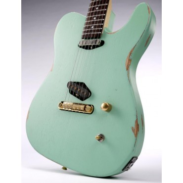 Slick Guitars SL 50 Surf Green
