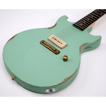 Slick Guitars SL 59 Surf Green