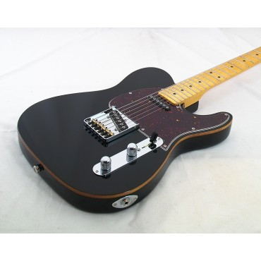 G&L Asat Classic USA Jet Black Mapleneck    SOLD