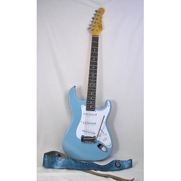 G&L Legacy USA Sonic Blue...