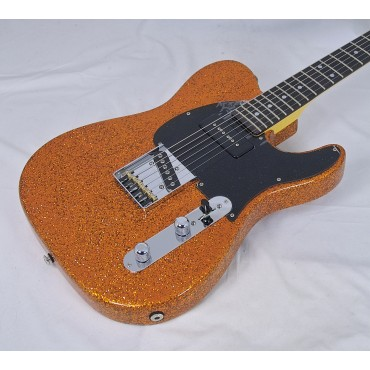 G&L Asat Classic Bluesboy 90 USA Orange Metal Flake, B - Modell