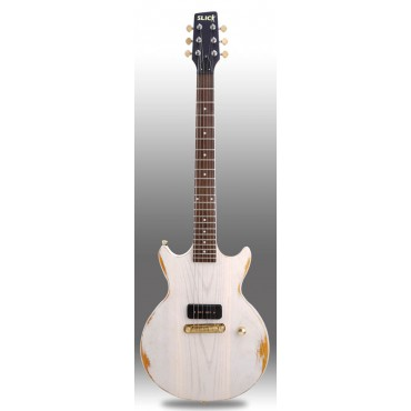 Slick Guitars SL 59 White