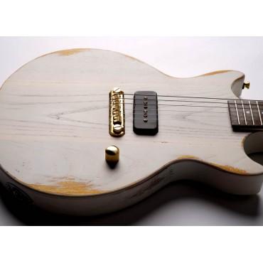 Slick Guitars SL 59 White