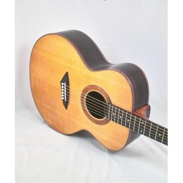 Heeres Guitars Small Jumbo Rosewood Natural