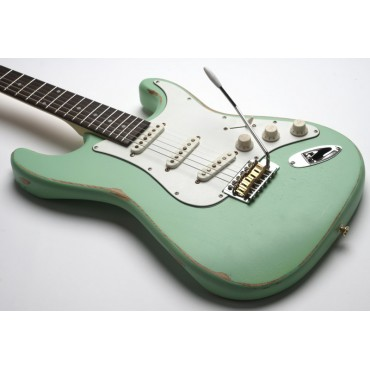 Slick Guitars SL 57 Surf Green